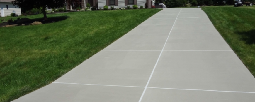 How do I keep my concrete driveway looking like new?