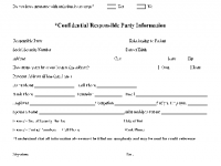Patient Family Information Forms