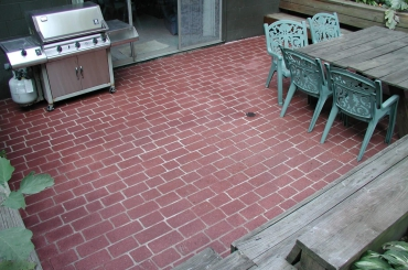 Residential Exterior - Patio Bricks