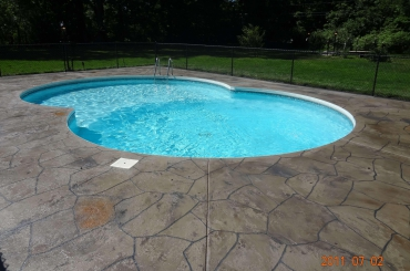 Residential Exterior - Pool Concrete